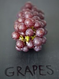 Red Grapes Photographic Print by Martina Schindler