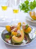 Melon with Ham Photographic Print