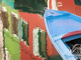 Reflections in Burano, Veneto Region, Italy Photographic Print by Nadia Isakova