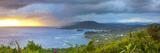 Elevated View over Dramatic Coastline from Noel Cowards 'Firefly', Roundhill, St. Mary Parish, Jama Photographic Print by Doug Pearson