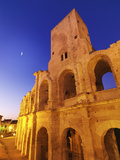 France, Provence, Arles, Roman Amphitheatre at Dusk Photographic Print by Shaun Egan