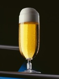 A Glass of Pils Photographic Print by Christian Schuster