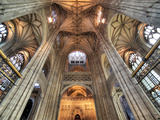 Interior of Canterbury Cathedral, Canterbury, Kent, England, UK Photographic Print by Ivan Vdovin