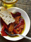 Peperonata (Red Peppers Marinated in Oil, Italy) Photographic Print