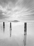 Italy, Umbria, Perugia District, Trasimeno Lake in Winter Photographic Print by Francesco Iacobelli