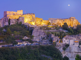 France, Provence, Les Baux-De-Provence at Dusk Photographic Print by Shaun Egan