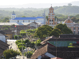 Colonial City of Granada, Nicaragua, Central America Photographic Print by Christian Heeb