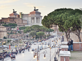 Vittoriano, Rome, Lazio, Italy, Europe Photographic Print by Francesco Iacobelli