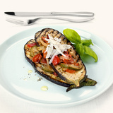 Grilled Aubergines with Courgettes and Tomatoes Photographic Print by Frank Wieder