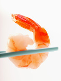 Shrimp on Chopsticks Photographic Print