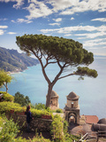 Italy, Amalfi Coast, Ravello, Villa Rufolo (MR) Photographic Print by Michele Falzone