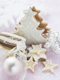 Assorted Christmas Biscuits Photographic Print