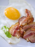 Fried Bacon and Egg Photographic Print