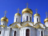 Domes of Cathedral of the Annunciation (1489), Moscow Kremlin, Moscow, Russia Photographic Print by Ivan Vdovin