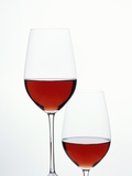 Two Glasses of Red Wine Photographic Print by Joerg Lehmann