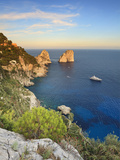 Italy, Campania, Napoli District, Capri, Faraglioni Photographic Print by Francesco Iacobelli