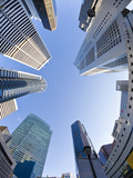 Singapore, Cbd, Financial Centre Office Buildings Photographic Print by Gavin Hellier