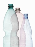 Three Plastic Bottles Photographic Print by Petr Gross