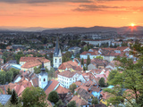 Slovenia, Ljubljiana, Old Town Photographic Print by Michele Falzone