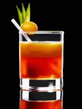 An Orange Cocktail Photographic Print by Walter Pfisterer