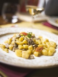 Gnocchi with Anchovies Photographic Print