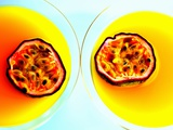 Summerstar Martinis with Passion Fruit and Champagne Photographic Print