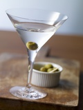 Dry Martini with Olives Photographic Print by Klaus Arras