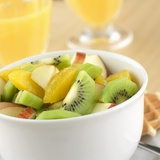 Small Bowl of Fruit Salad Photographic Print by Alexander Feig