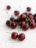 Fresh Cherries Fotodruck von Sam Stowell