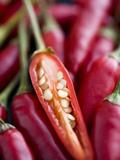 Red Thai Chillies Fotografisk tryk af Greg Elms
