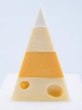 Pyramid of Hard Cheeses Photographic Print