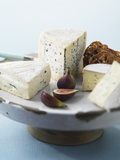 Blue Cheese and Figs Photographic Print by Jim Norton