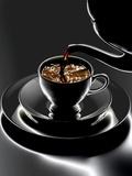 Hermann Mock - Coffee Being Poured Fotografická reprodukce