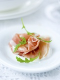 Prosciutto with Rocket Photographic Print by Ira Leoni