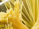 Spaghetti in Pan Photographic Print