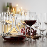 Still Life with Red Wine in Glass and Decanter Photographic Print by Alexander Feig
