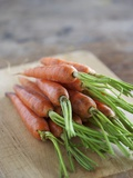 Fresh Carrots Photographic Print by Winfried Heinze