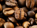 Close-Up of Coffee Beans, Filling the Picture Photographic Print by Dieter Heinemann