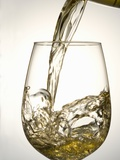 Pouring White Wine Photographic Print by Jean Gillis
