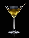 A Manhattan Dry with Olive Photographic Print by Walter Pfisterer
