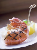 Grilled King Prawn Photographic Print