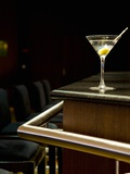 A Martini with an Olive on a Bar Photographic Print by Alexandre Oliveira