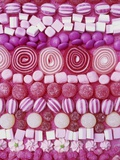 Assorted Pink Sweets Photographic Print by Linda Burgess