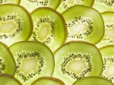 Kiwi Fruit Slices Photographic Print