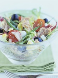 Salade Niçoise Photographic Print by Howard Shooter