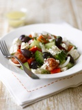 Greek Salad Photographic Print by Sam Stowell