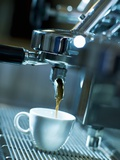 Espresso Running into a Cup Photographic Print by Ingolf Hatz