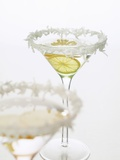 Sambuca with Lemon in Coconut-Rimmed Glass Photographic Print by Kia Nu