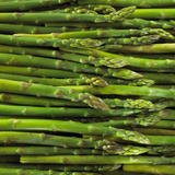 Green Asparagus Spears Photographic Print by Dave King