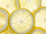 Several Lemon Slices Photographic Print